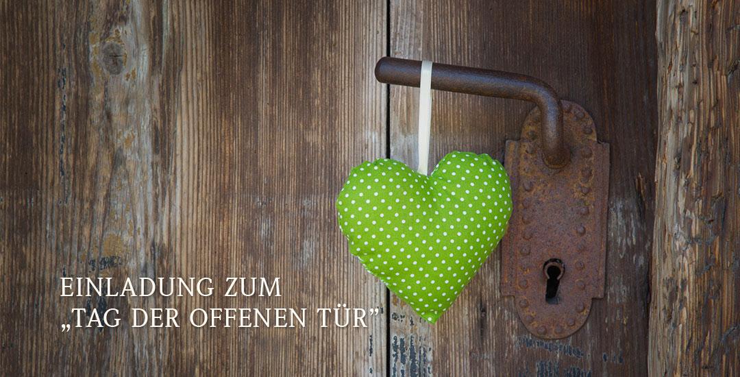 Wann ist tag der offenen tür  Tag der offenen Tür am Samstag, den 23. November | hautnah ...